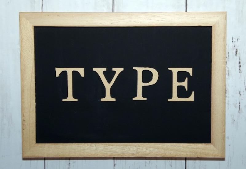 TYPE・分類