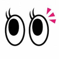 目・キョロキョロ