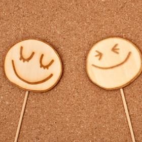笑顔のキャンディー